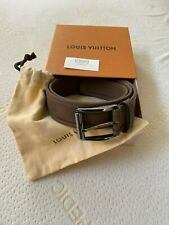 """Brand New With Box Louis Vuitton Light Brown Belt, Size 95 (33""""-37"""")"""