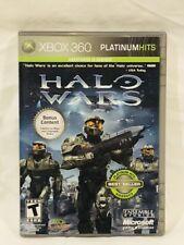 Xbox 360 X Box Live Halo Wars w Bonus Content 4 maps 3 Gameplay MINT complete