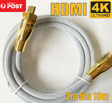 4K HDMI Cable Ultra HD Premium V2.0 Gold Plated 3D High Speed Ethernet 2m 5m 10m