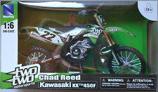 NewRay Kawasaki KX450F 2014 TwoTwo Motorsports Chad Reed 1:6 Neu/OVP Motorcycle