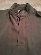 FOOTJOY Men's HALF-SNAP & ZIP Xtra Large (XL) GREEN & BLACK Windowpane LS Jacket