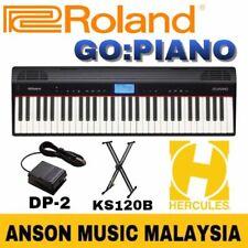Roland GO:PIANO Digital Piano w/Roland DP-2 Pedal & Hercules KS120B Stand