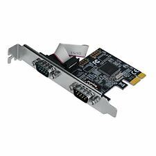 SIIG Dual-Serial Port / RS-232 PCIe Card (LB-S00014-S1)