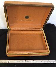Holland-Afrika Lijn vintage leather box