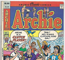 Archie Comics' Archie #282 So Much Fun Variant from 1987 in VG+ condition