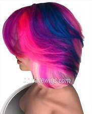 HOT! New unicorn colors 100% Human hair wig