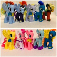 """Lot of 10 My Little Pony Wonderbolts Assorted 6"""" Ponies with some accessories"""