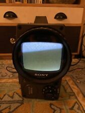 """Sony TV-511UK Solid State 90 degree rotating oscilloscope 5 """" inch CRT TV screen"""