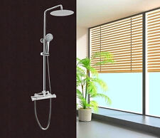 Colonna doccia saliscendi multifunzione con soffione miscelatore termostatico |3