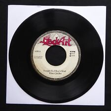 "PRINCE JAZZBO Straight To I Roy's Head BLACK ART Jamaica 7"" 45 VINYL ROOTS 1975"