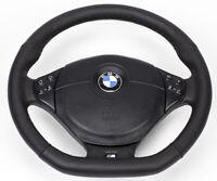 Aplati Multifonction 4 Volant en Cuir M Énergie BMW E46 E39 Avec Airbag ( Noir