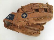 Vintage Top Grain Leather Pro Model Jim Rice 12� Glove Mitt Rh Cowhide Spalding