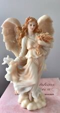 Heather Autumn Beauty Seraphim Classics Fall Angel Figure With Box 1997 #78088