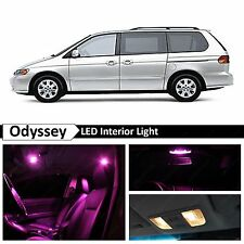 13x Pink LED Light Interior Package Kit for 1999-2004 Honda Odyssey