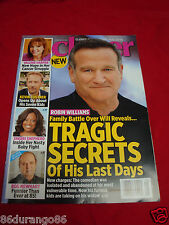 CLOSER MAGAZINE FEBRUARY 23 2015 ROBIN WILLIAMS BOB NEWHART KEVIN COSTNER