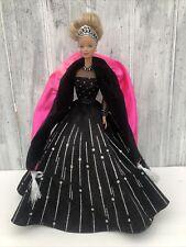 Happy Holidays 1998 Barbie Mattel Black Dress