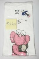 UNIQLO KAWS UT SUMMER 2019 GRAPHIC T-SHIRT PINK BFF COMPANION WHITE SIZE 3XL