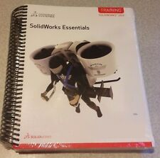 SolidWorks Essentials 2013 Training Manual Brand New Sealed 500+ Page Cheap