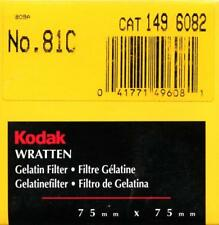Kodak Wratten Filtro Gelatina 81C Corrección de color (75mmx75mm)