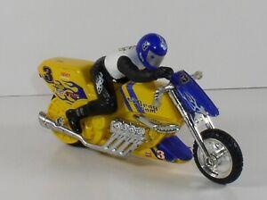 "Hot Wheels Motorcycle & Rider Drag Team Steve's Chassis #3 Harley 7"" Long"
