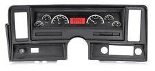 Dakota Digital 69-76 Chevy Nova Dash Analog Gauges Kit Black Red VHX-69C-NOV-K-R
