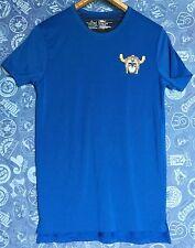 Men's Size S T-Shirt Transformers Voltron Defender of the Universe Blue Graphic