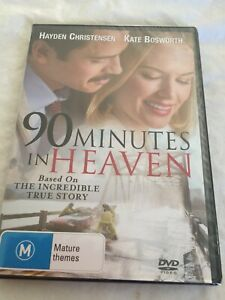 90 MINUTES IN HEAVEN - BASED ON A TRUE STORY - KATE BOSWORTH - PAL R4 DVD - NEW