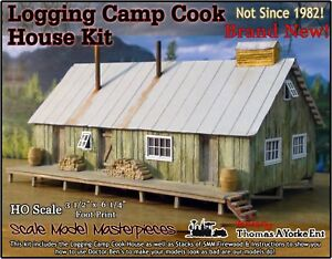 Scale Model Masterpieces/Yorke Logging Camp Cook House Kit HO