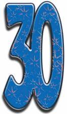Número 30 - lifesize Silueta de cartón / Figura Pie