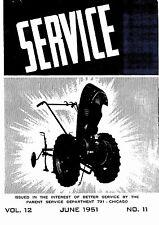 David Bradley Service June 1951