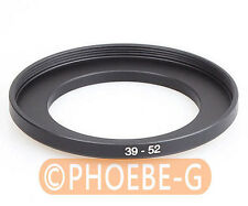 39mm to 52mm 39-52 mm Step Up Filter Ring  Adapter