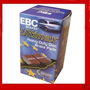 SAAB 93 9-3 2.2 TD 2004- EBC ULTIMAX REAR BRAKE PADS