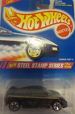 """New"" Hot Wheels 1994 Steel Stamp Series #2 of 4 Zender Fact 4"