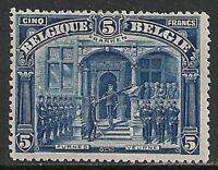Belgium 1915 YV 147  FRANKEN  MLH  VF