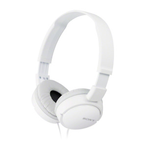 Sony MDR-ZX110 Stereo / Monitor Over-Ear Headphone, White