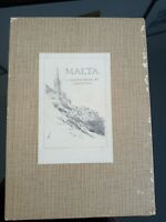 Malta. A Sketch-Book. Gordon Home 1921 First Edition