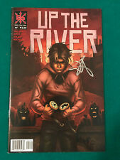 UP THE RIVER #1 SIGNED SOURCE POINT PRESS COMIC BOOK
