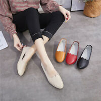Minimalist Women's Loafers Flats Ladies Comfy Office Work Slip On Casual Shoes