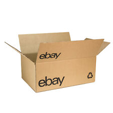 "eBay-Branded Boxes With Black Color Logo 15"" x 10"" x 6"""