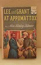 Landmark: Lee and Grant at Appomattox No. 8 by MacKinlay Kantor - 1950 Hardcover