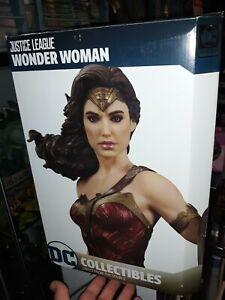 DC Collectibles Justice League Movie Wonder Woman Gal Gadot Statue MIB bt