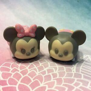 Disney Tsum Tsum Stack Vinyl Minnie Mickey Mouse Pastel Parade Easter LARGE