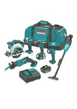 Makita 18-Volt Lithium-Ion Cordless 6-Piece Kit combo XT614SX1 brand new