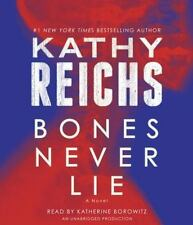 BONES NEVER LIE unabridged audio book on CD by KATHY REICHS - Brand New 11 Hours