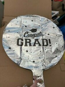 Congrats Grad Foil Balloon Confetti Grad Party Decorations New!!!