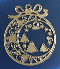 NEW 'Christmas Ornament' Craft Die for Card making, Scrapbooking etc. 🎄