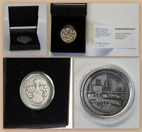 Medaille Gedenkmünze Tag der Stadtgeschichte Ortrand Silber 999 limitiert 1/100