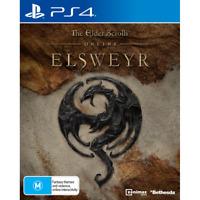 Elder Scrolls Online Elsweyr Online Game MMORPG For Sony PS4 Playstation 4