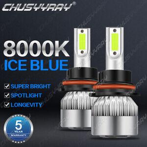 For Nissan Frontier 2001-2019 - 2PC 8000K LED Headlight Kit High Low Beam Bulbs