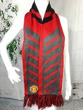 Nike Manchester United Unisex MUFC Soccer Football Multicolor Fringe Scarf New
